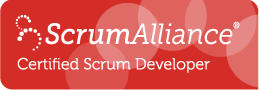 Certified Scrum Developer Logo